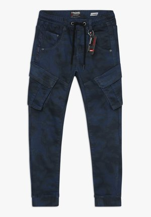 CARLOS - Cargo trousers - dark blue