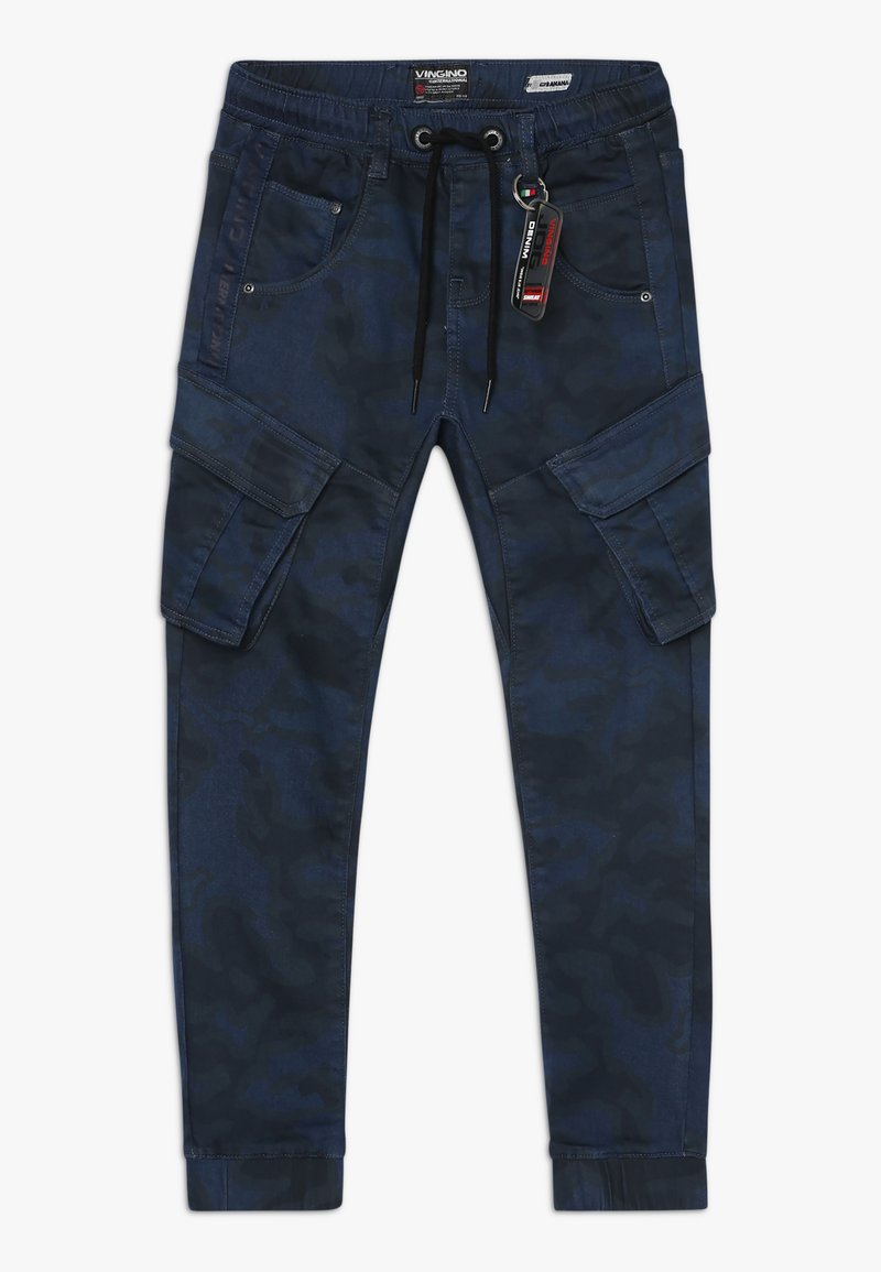 Vingino - CARLOS - Cargo trousers - dark blue
