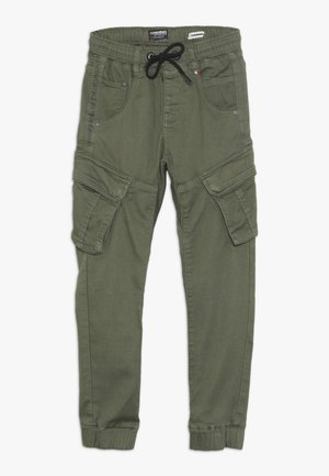 CARLOS - Cargo trousers - olive night