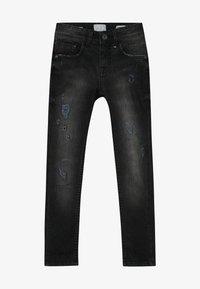 Vingino - ANTWAN - Jeans Skinny Fit - black vintage - 2