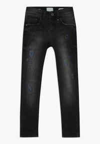 Vingino - ANTWAN - Jeans Skinny Fit - black vintage - 0