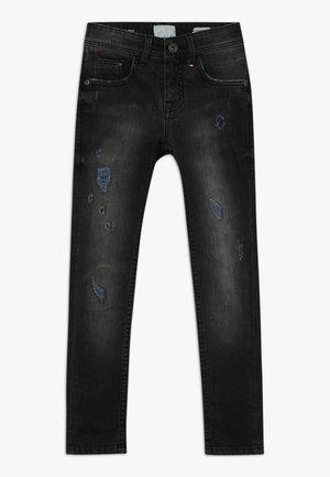 ANTWAN - Jeans Skinny Fit - black vintage