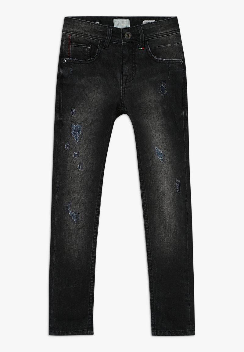 Vingino - ANTWAN - Jeans Skinny Fit - black vintage