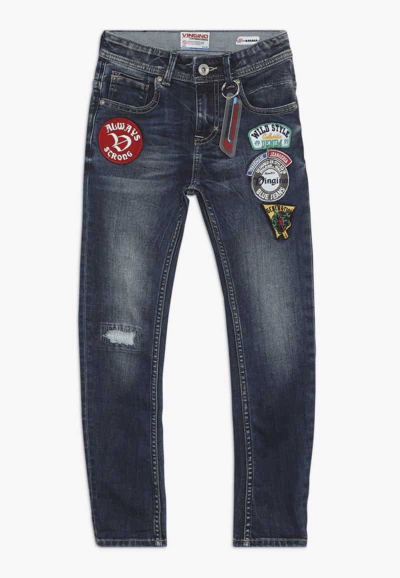 Vingino - CLINT - Jeans Slim Fit - dark used