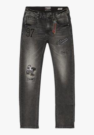CLIFFORD - Slim fit jeans - black vintage
