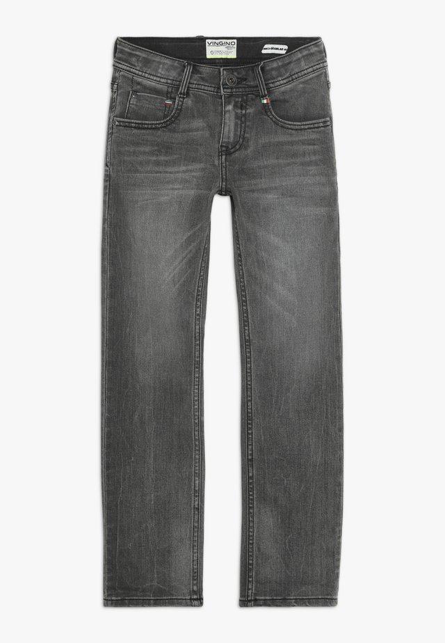 BALDER - Jeans straight leg - dark grey vintage