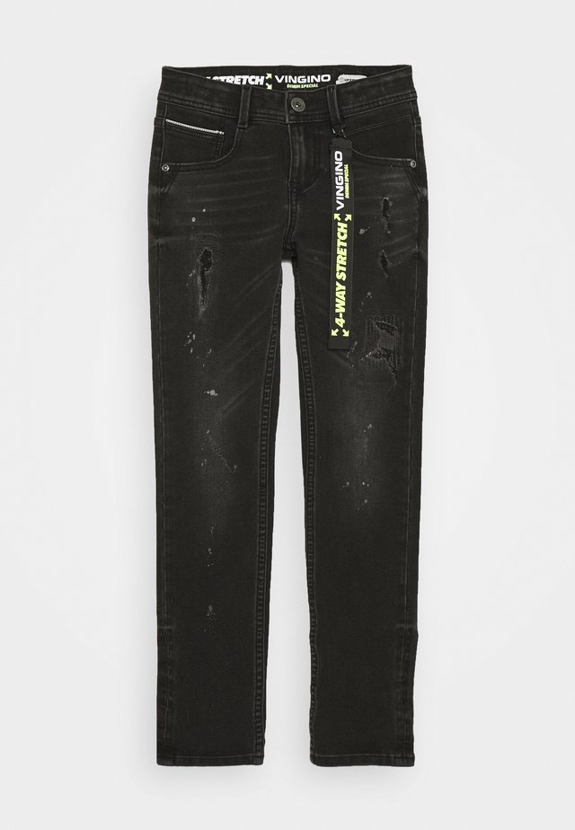 AMADEO - Jeans Skinny Fit - black vintage