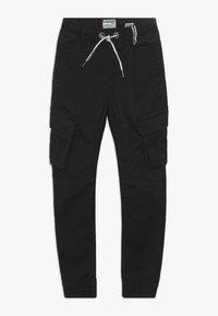Vingino - COLIVIER - Cargo trousers - black denim - 0