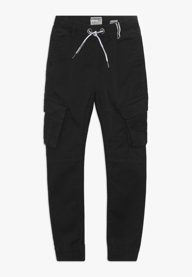 Vingino - COLIVIER - Cargo trousers - black denim