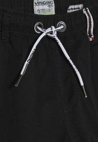Vingino - COLIVIER - Cargo trousers - black denim - 4