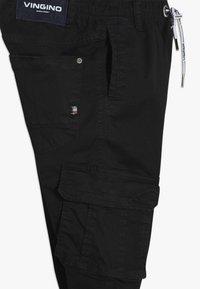 Vingino - COLIVIER - Cargo trousers - black denim - 2