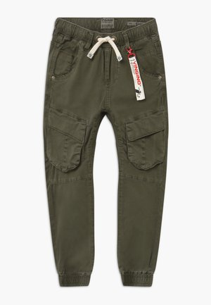 CABE - Cargo trousers - dark army