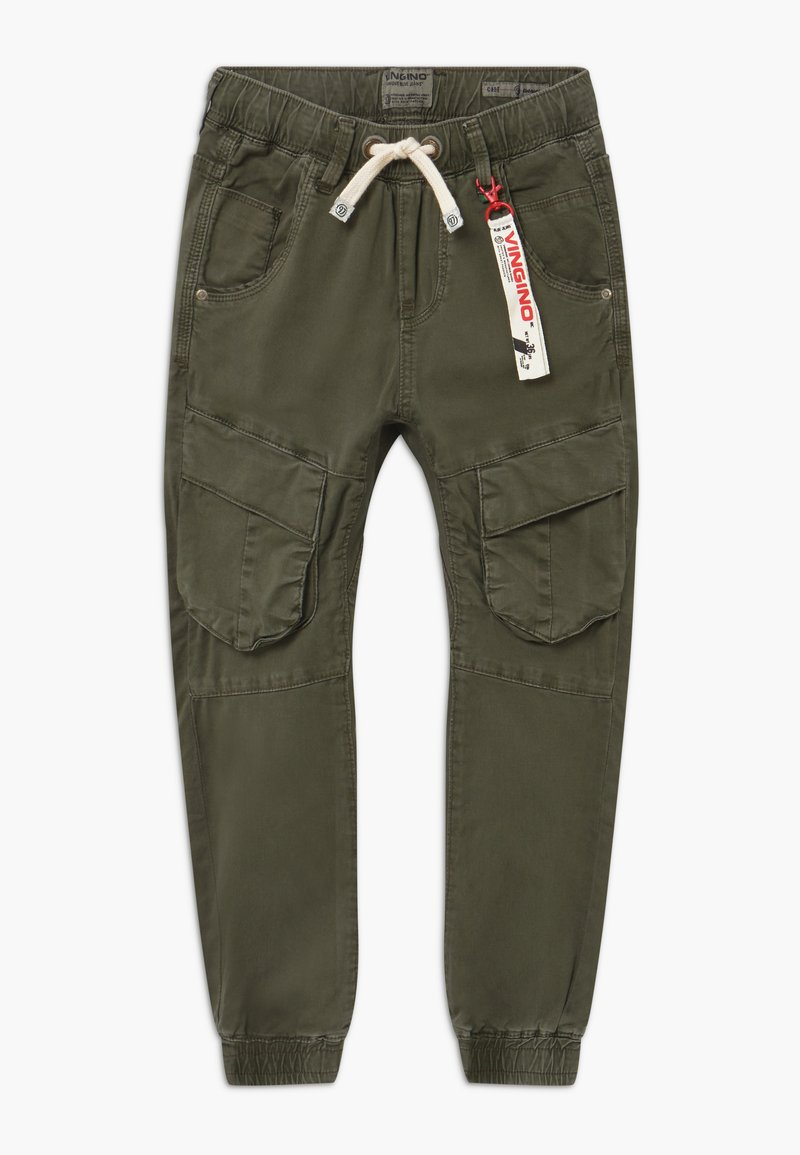 Vingino - CABE - Cargo trousers - dark army