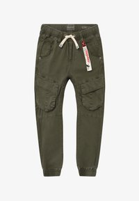 Vingino - CABE - Cargo trousers - dark army - 2