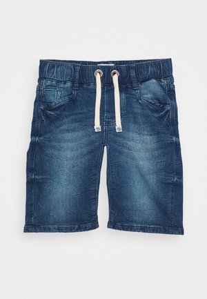 CECARIO - Denim shorts - cruziale blue