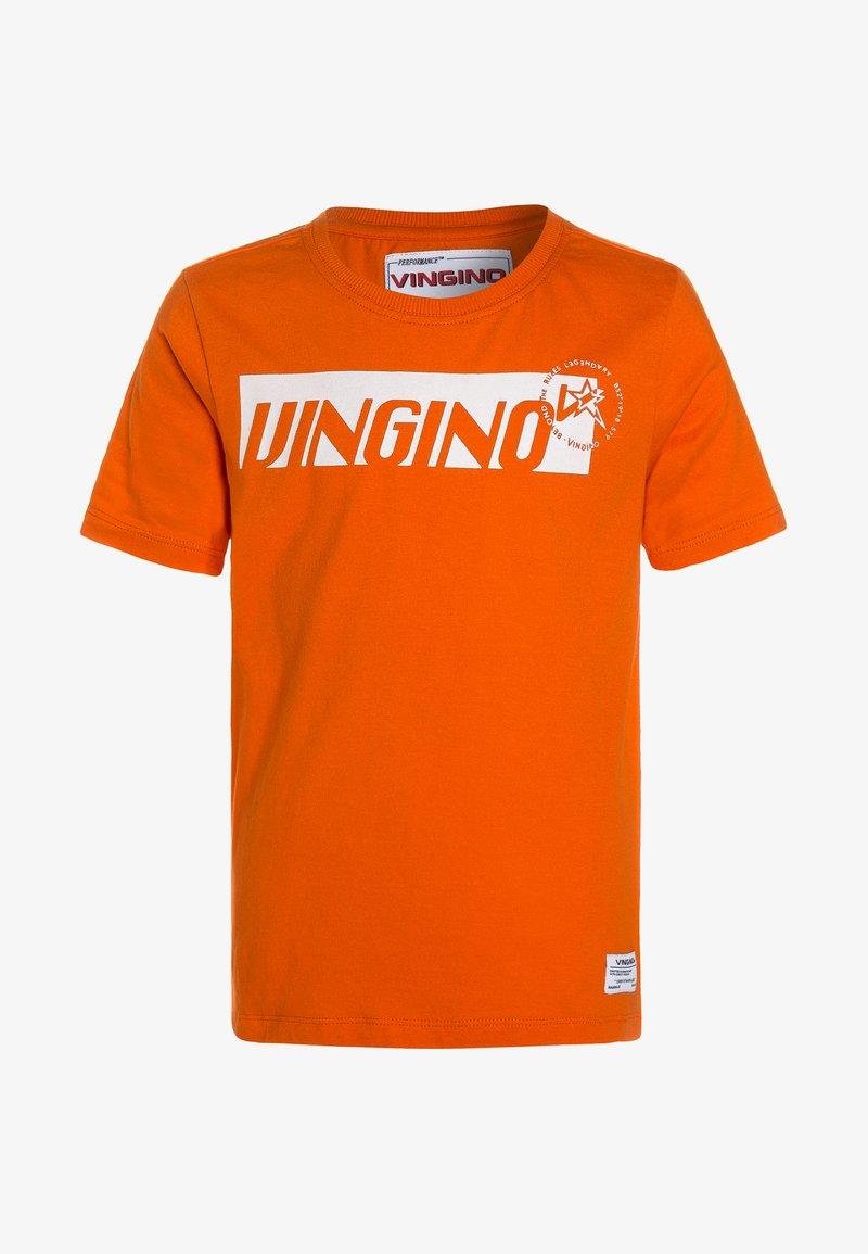 Vingino - HADREA - T-Shirt print - orangina