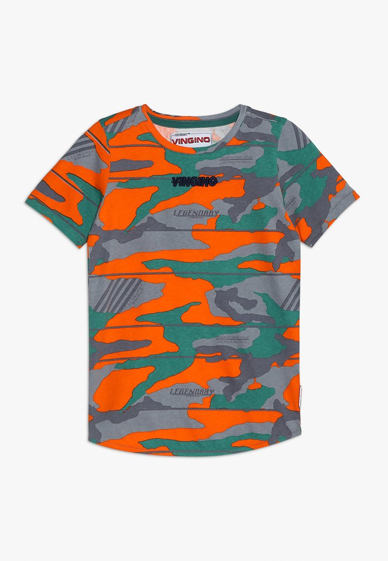 Vingino - HUMMES - T-Shirt print - orangina