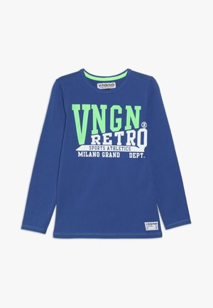 JIGELO - Langærmede T-shirts - pool blue