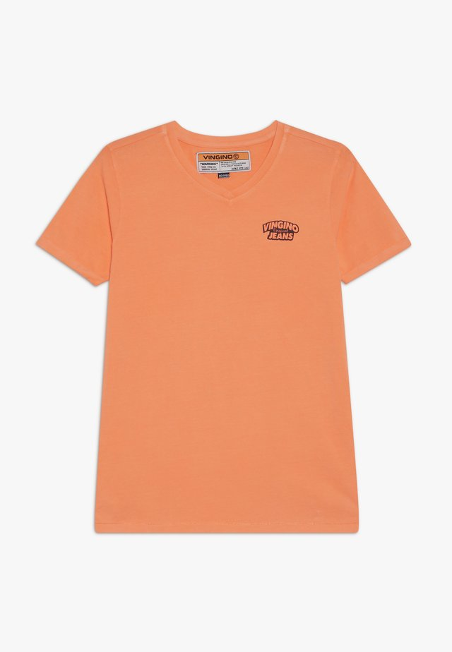 HANGU - T-shirt basic - neon orange