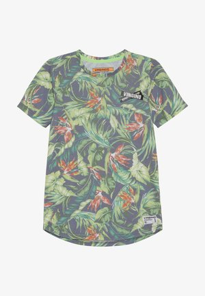 HESBAK - Print T-shirt - fresco green
