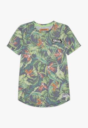 HESBAK - Print T-shirt - fresco green