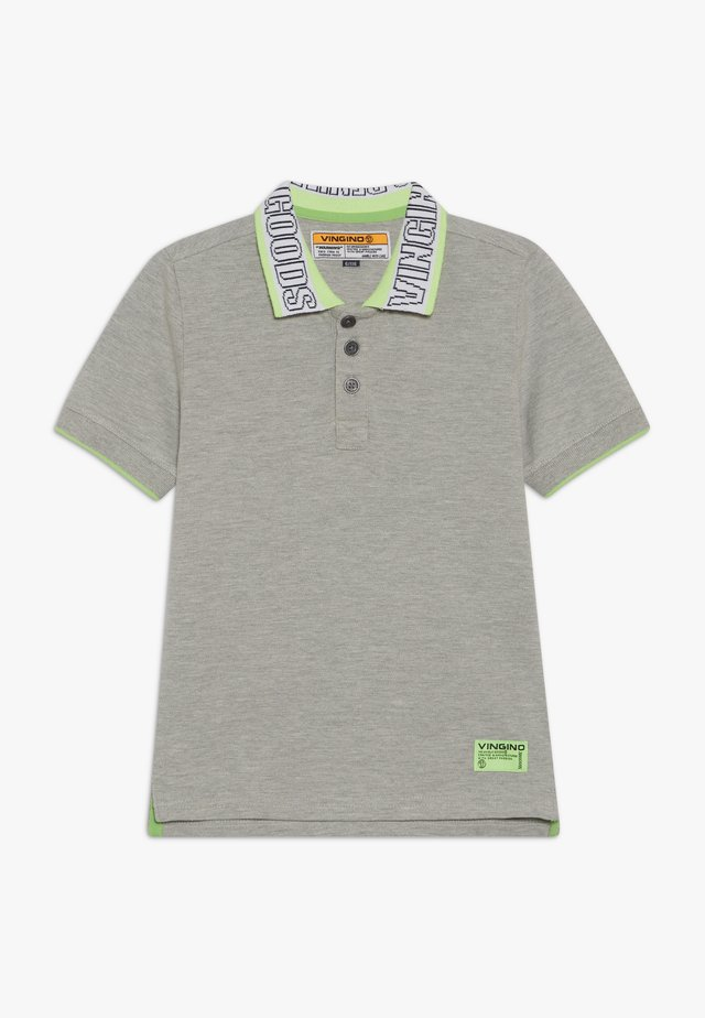 KEYET - Polo shirt - grey mele