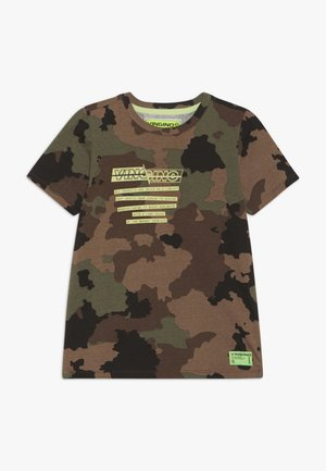 HEEVAR - T-shirt print - green