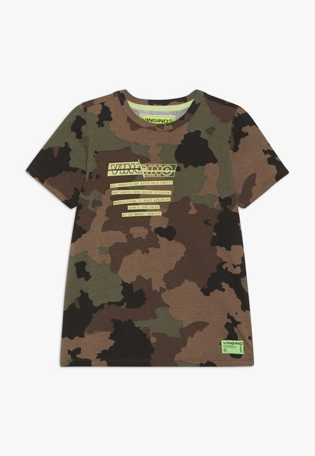 HEEVAR - Camiseta estampada - green