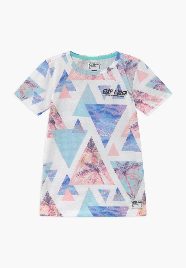 HALM - T-Shirt print - pastel mint