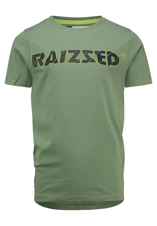 HELSINKI - Print T-shirt - bari green