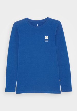 BASIC TEE - Long sleeved top - pool blue