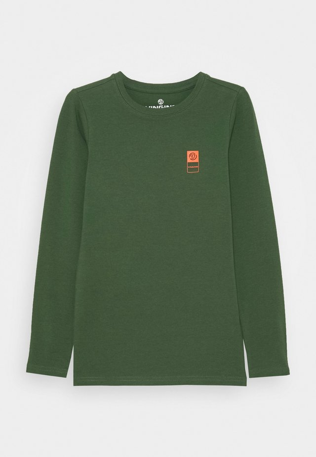 BASIC TEE - Langærmede T-shirts - amazon green