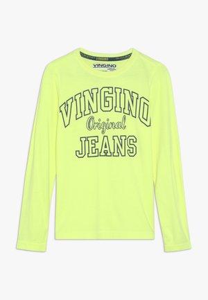 JEAT - Langarmshirt - neon yellow