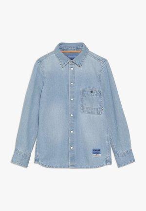 LURESH - Shirt - mid blue wash