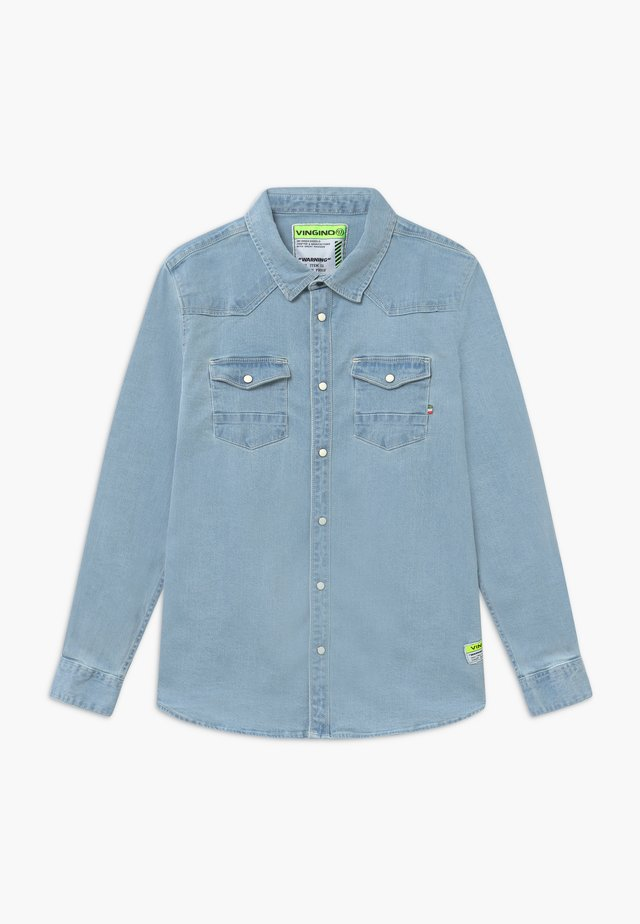 LUCAS - Overhemd - light-blue denim