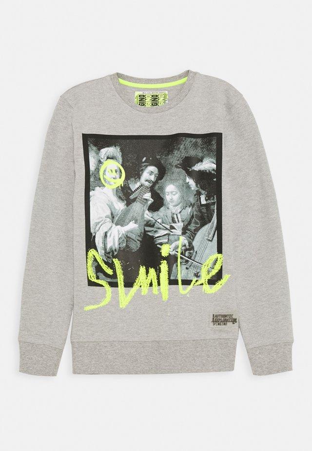 NAZIO - Sweatshirt - light grey melee
