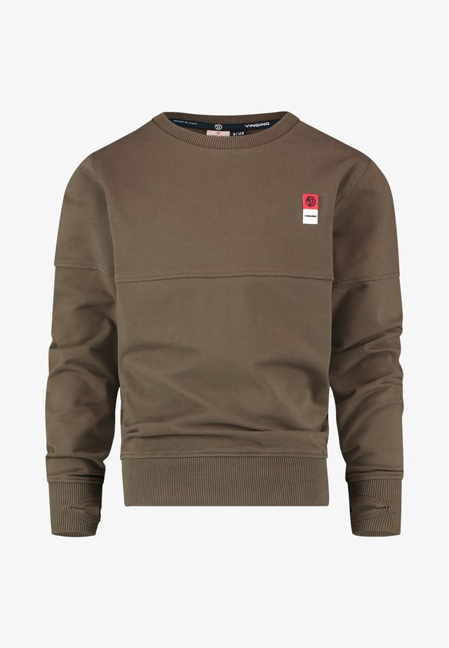 Sweatshirt - amazon green