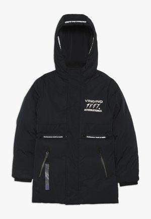 TEFO - Winter jacket - deep black