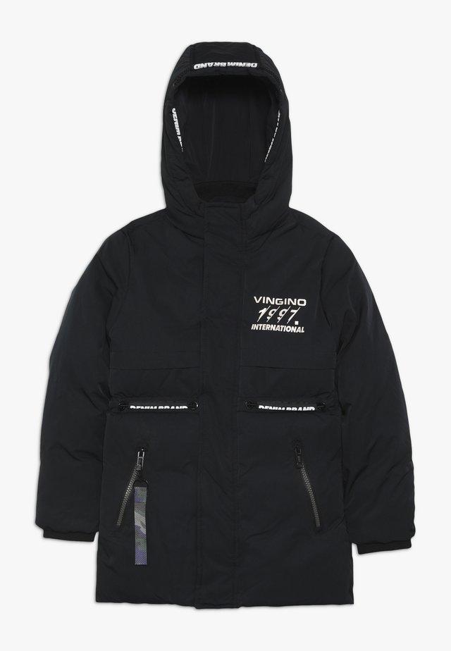 TEFO - Winterjas - deep black