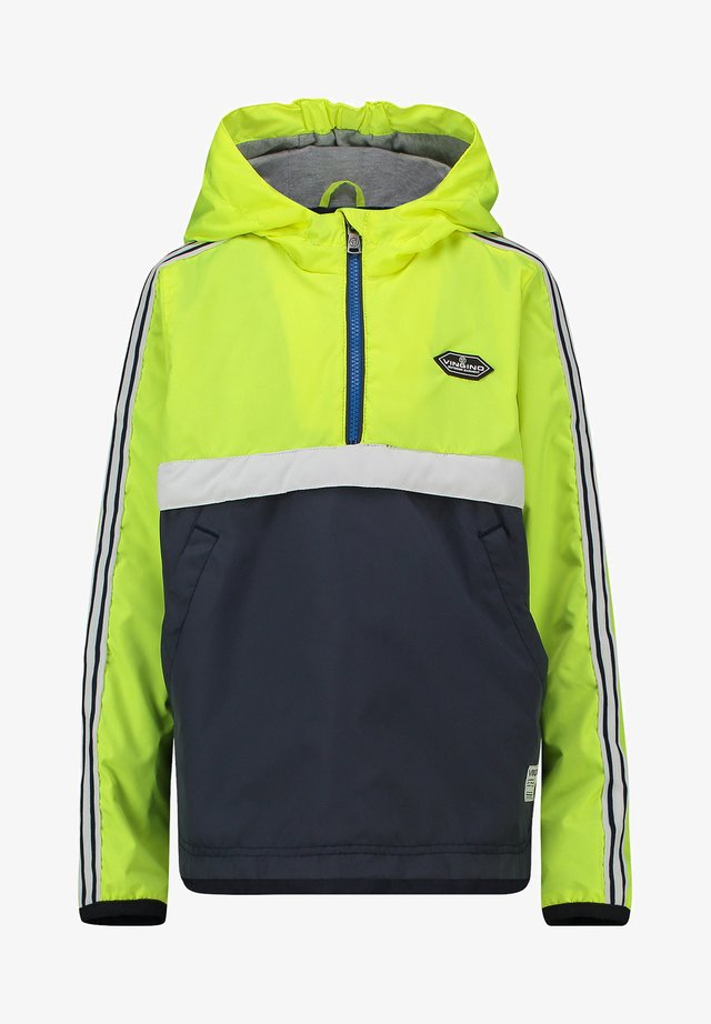 Outdoor jacket - neon yellow