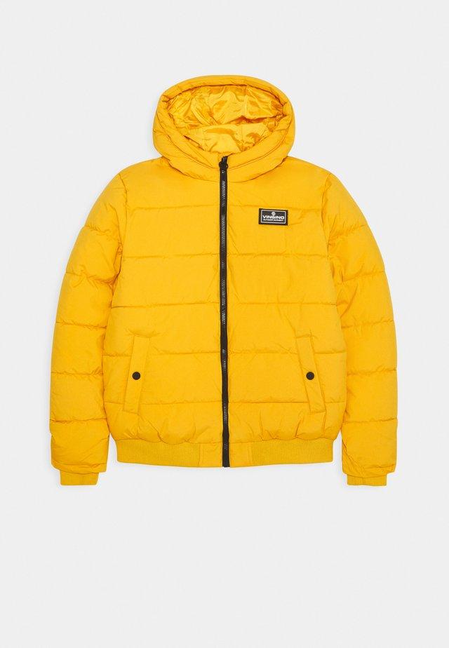 TANJU - Winter jacket - warm yellow