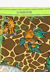 Vingino - WILDONE 3 PACK - Kalhotky/slipy - multicolor brown - 4