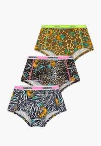 Vingino - WILDONE 3 PACK - Kalhotky/slipy - multicolor brown - 0