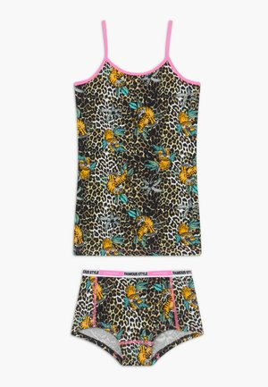 WILDONE SET - Sada spodního prádla - multicolor brown
