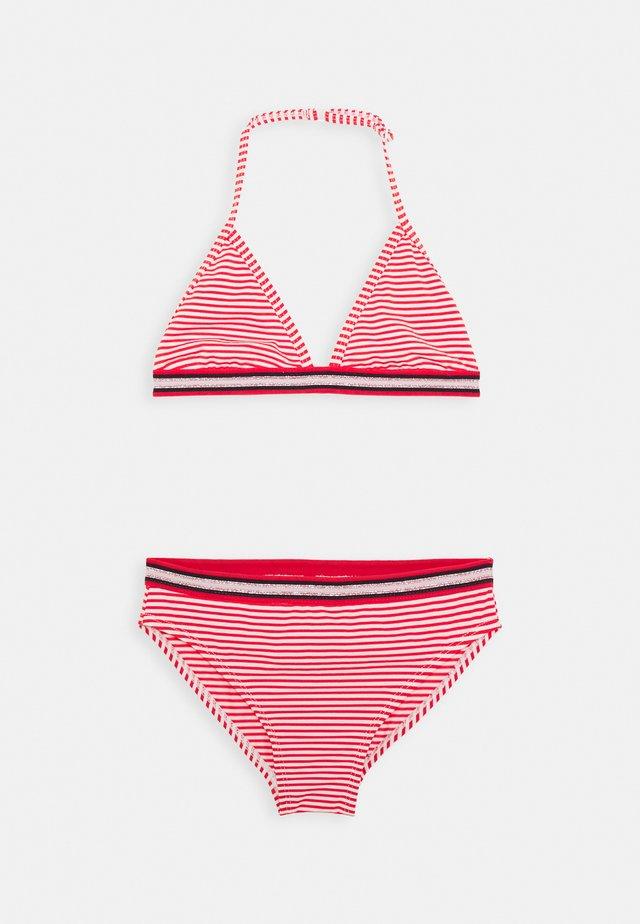 ZETTA SET - Bikini - red lollipop