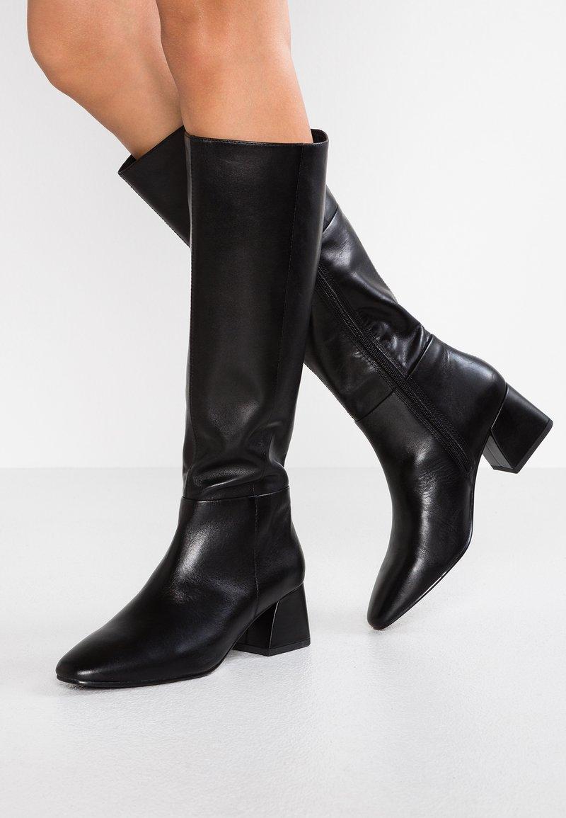 Vagabond - ALICE - Høje støvler/ Støvler - black