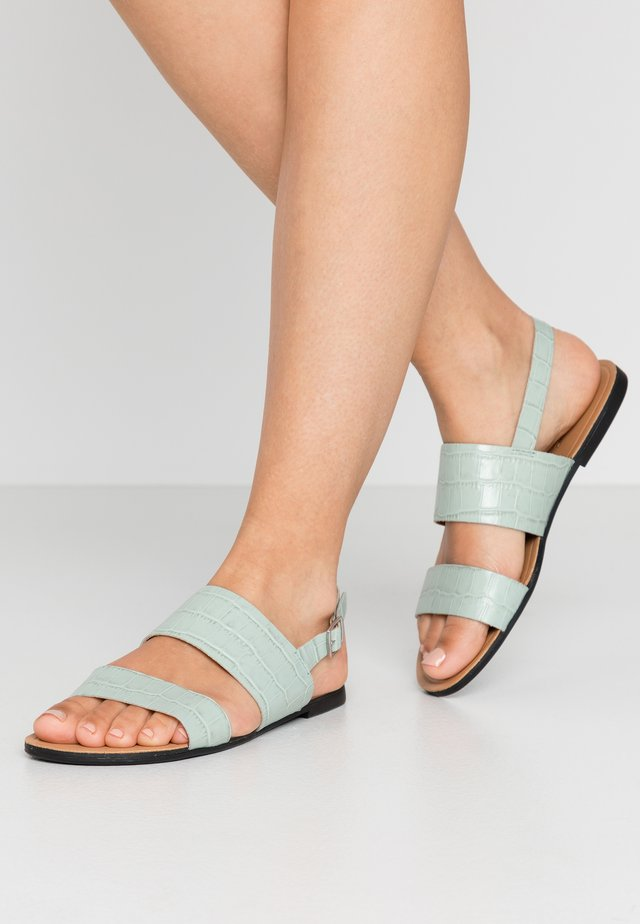 TIA - Sandals - dusty mint