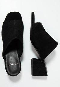 Vagabond - ELENA - Ciabattine - black - 3