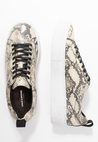 Vagabond - ZOE PLATFORM - Sneakers - sand/black - 3