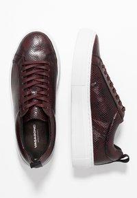 Vagabond - ZOE PLATFORM - Sneakersy niskie - wine - 3